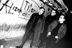 Ivan Novak, Dejan Knez in Igor Vidmar v Disku FV 112/15, 1982, foto: Siniša Lopojda