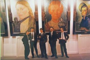 IRWIN, Städtische Kunsthalle Düsseldorf, 1989 foto: arhiv IRWINA