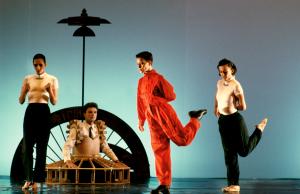 KOZMOKINETIČNI KABINET NOORDUNG, Kozmokinetični balet Molitveni stroj Noordung, 1992, foto: B.G