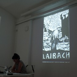 "NSK - From Kapital to Capital | Neue Slowenische Kunst Exhibition - Barbara Borčić: ""Gesamtkunstwerk Laibach"""