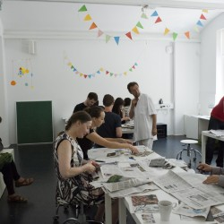NSK - From Kapital to Capital | Neue Slowenische Kunst Exhibition - Political poster workshop (led by members of New Collectivism)
